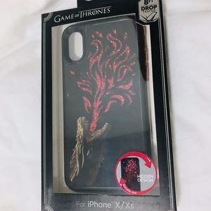 NEW Game of Thrones Dragon iPhone X/Xs Case